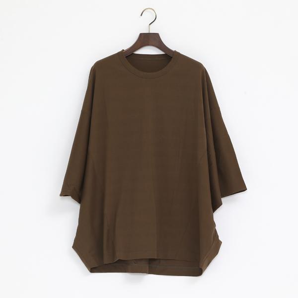 テクノラマ 切り替えTシャツ(KHAKI)