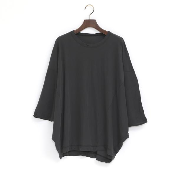 コズモラマ 切り替えTシャツ(CHARCOAL GRAY)