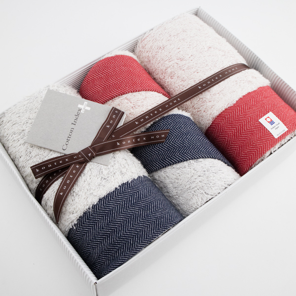 贈り物におすすめのタオルセットです