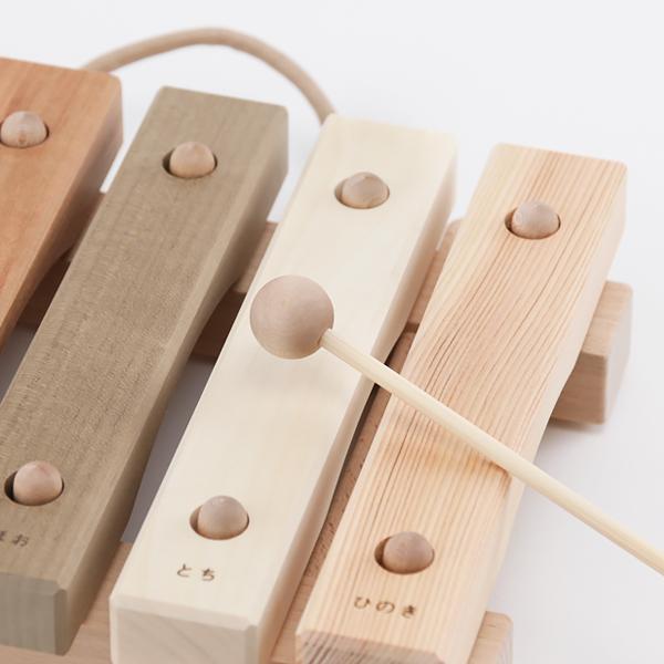 積み木と同じように、音盤も面取りされています