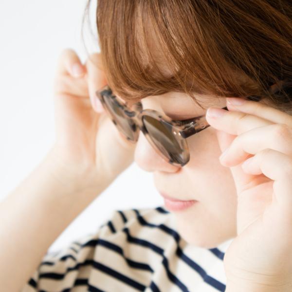おしゃれを楽しめるサングラスです(LIGHT TORTOISE)