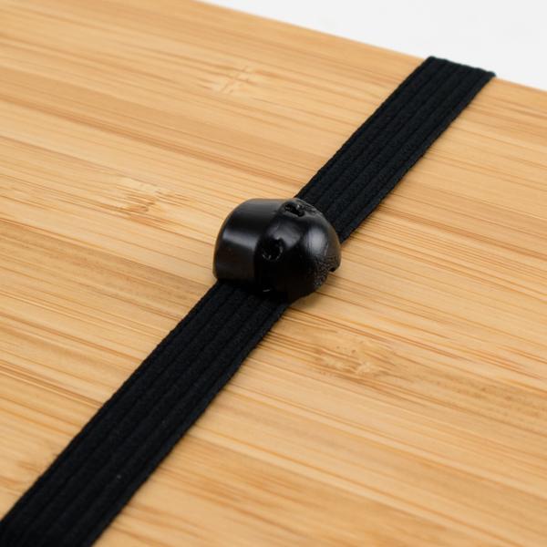 根竹のワンポイント(黒)