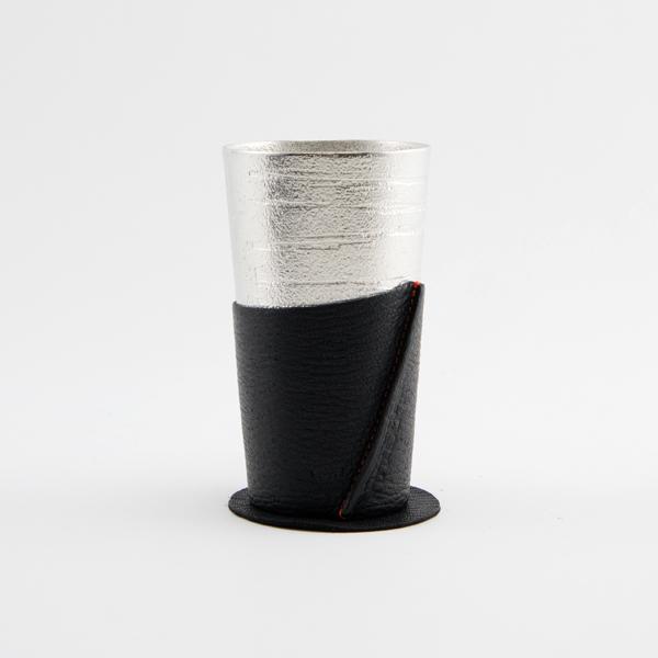 ビアカップシラカバ スリーブセット(ブラック)