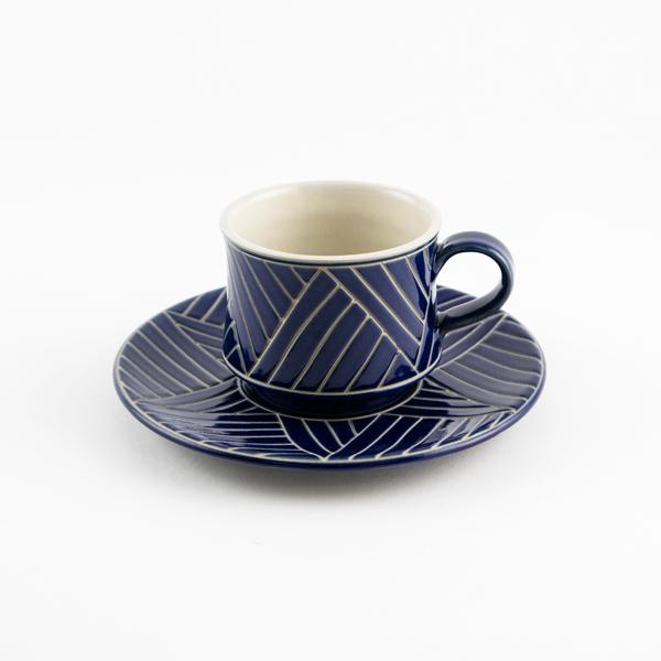 カップ&ソーサー バサナイ(BLUE)