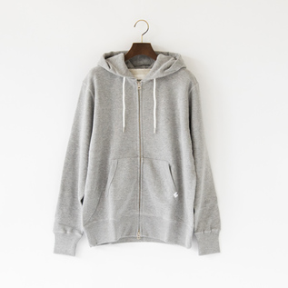 ZIPPED UP HOODIE REGULAR FIT