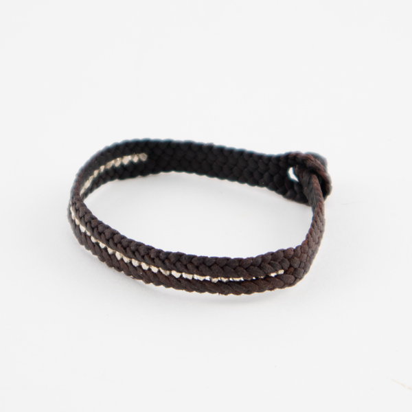 SHEEP LEATHER ブレスレット CARRIL PLATA(BROWN)