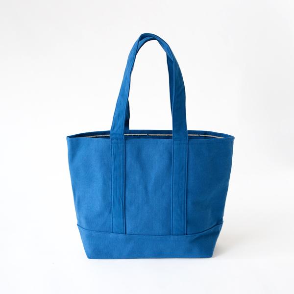ファスナートート ミニ(藍)
