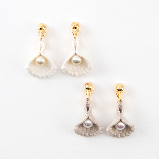 Clip-on Earrings Shell