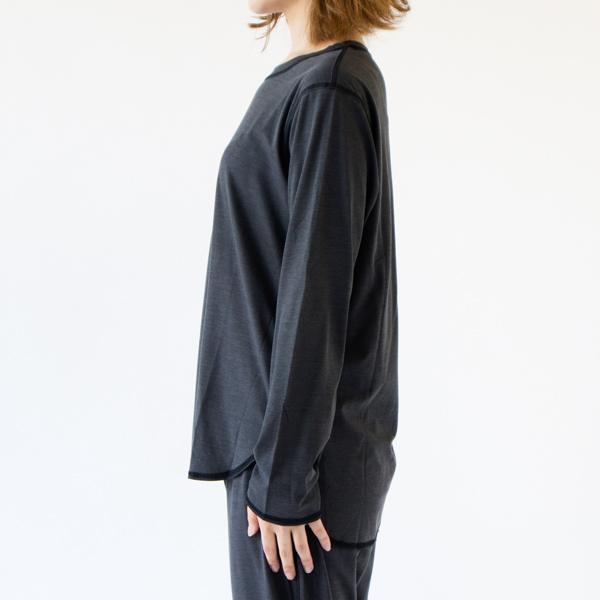 BLACK(モデル身長162cm 着用サイズM)