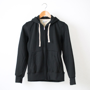 eat hoodie black
