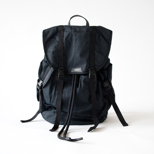 CHARLIE(BLACK WITH BLACK LEATHER)
