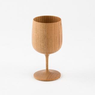 木製ワイングラス URAHA 裏葉