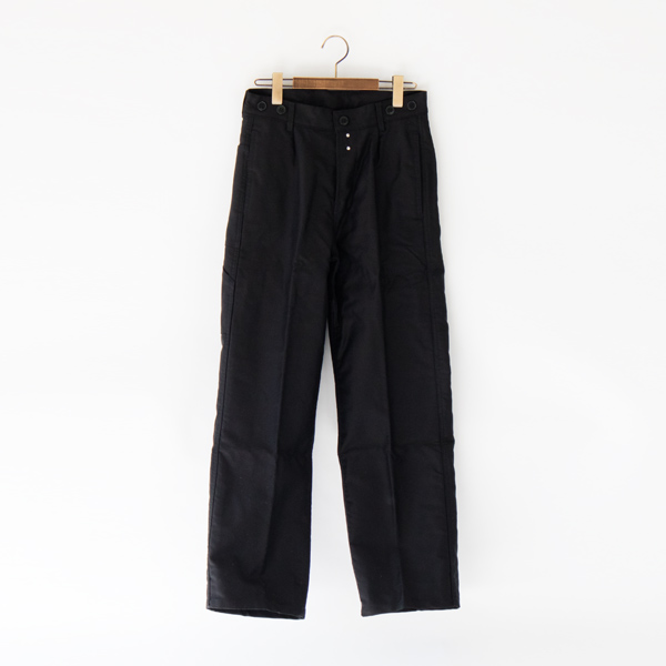 TRADITIONAL WORKER TROUSERS ワークパンツ NOIR