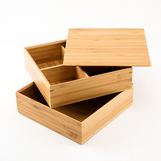 JU-BAKO BENTO BOX WITH PARTITION