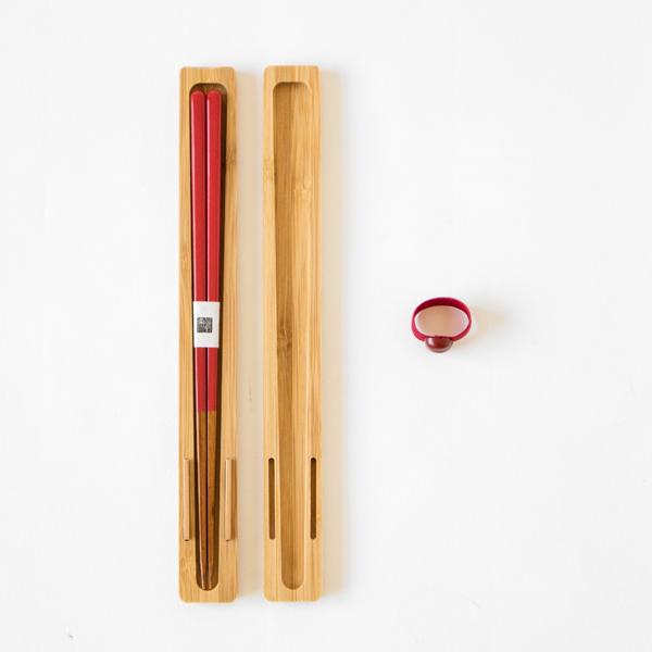 お箸と専用ケースのセット