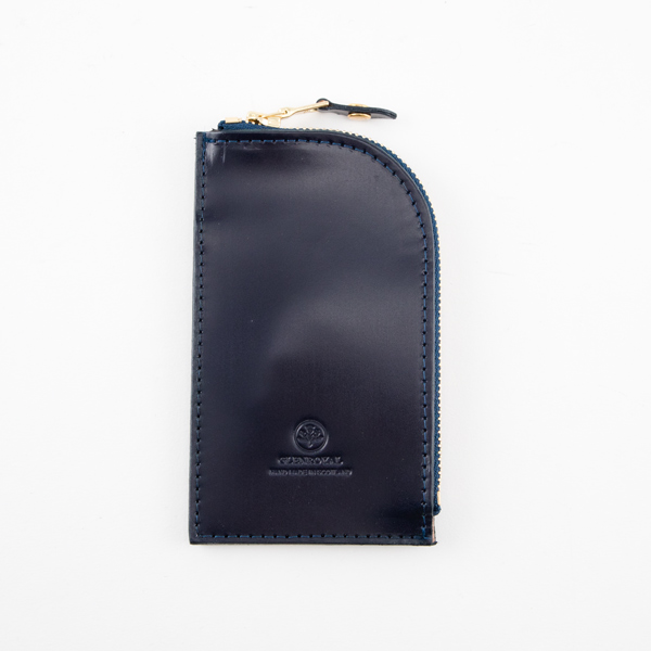 ZIPPED KEY CASE(DARK BLUE)