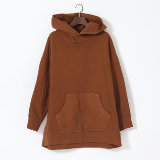 COTTON FOODED SWEAT SHIRT