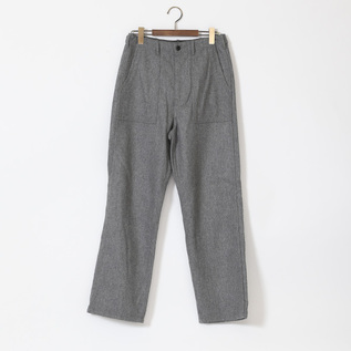 FLANNEL BAKER PANTS