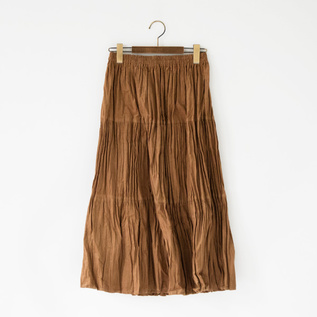 Corduroy Tiered Skirt