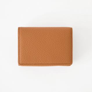 3つ折り財布 SHURUNKEN CALF ACC TRI FOLD MINI WALLET