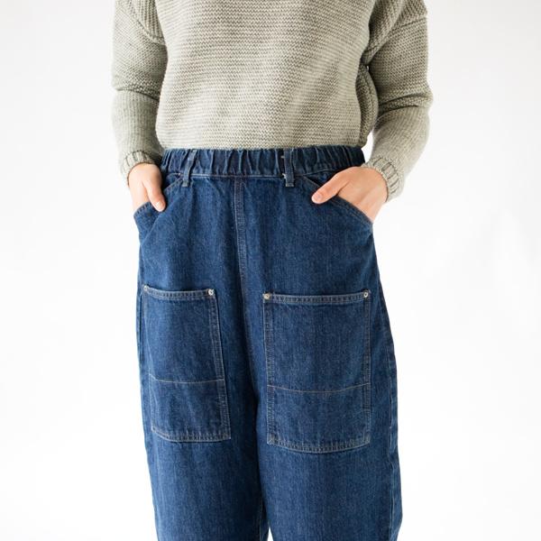 FADE BLUE 前ポケット