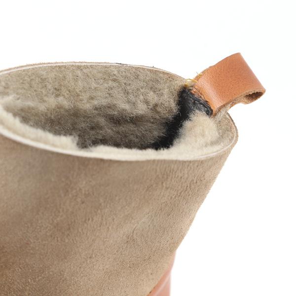 暖かなムートン素材
