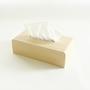 Tissue Box Cover White Oak