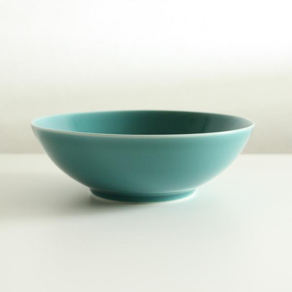 7寸浅平鉢(青磁)