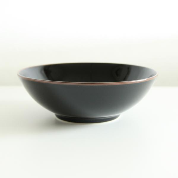 7寸浅平鉢(天目)