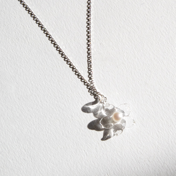 【別注】 PEARL ネックレス 小花