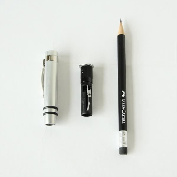 鉛筆削り付キャップ