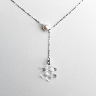 BESPOKE NECKLACE PEARL SNOW