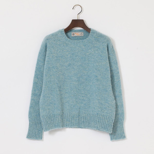 BRUSHED CREW NECK L S SWEATER