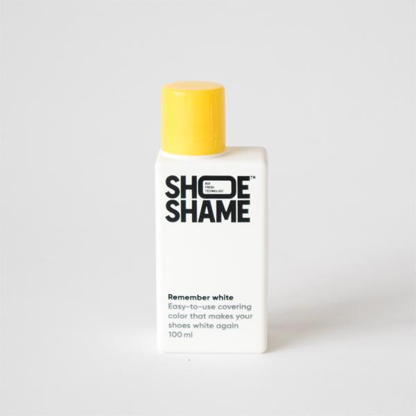 白いスニーカーの黄ばみや傷を目立たなくするRemember white