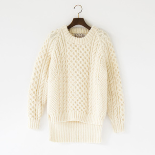 HONEY COMB KNIT BACK LONG
