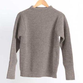 SAILOR SWEATER THE NAVY CREWNECK NATURAL TAUPE