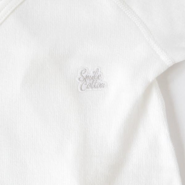 縫い跡が出ないムカラ刺繍のロゴ