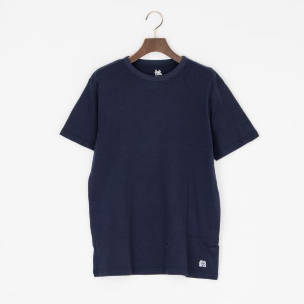 ユニセックス クルーネック半袖Tシャツ(NAVY)