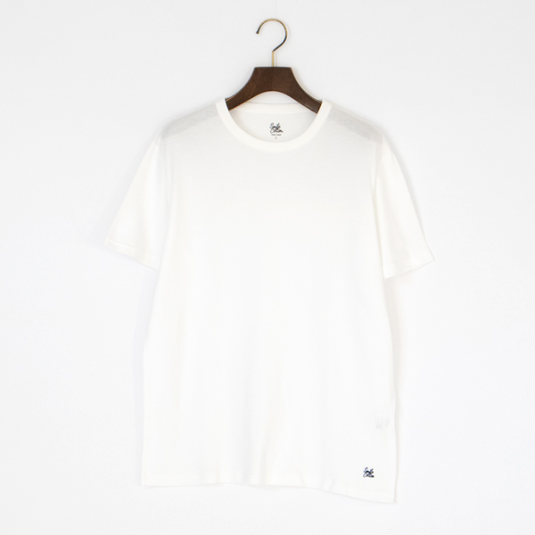 ユニセックス クルーネック半袖Tシャツ(WHITE)