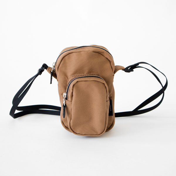 POCKET SHOULDER(MOCHA)
