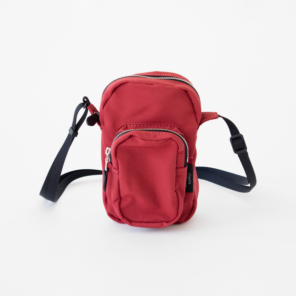 POCKET SHOULDER(RED)