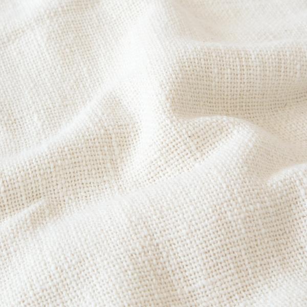 ガラ紡で編んだふんわりと育つ生地