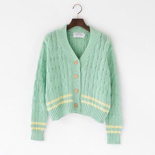 CRICKET CROP CARDIGAN
