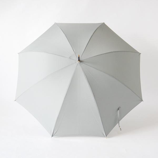 雨傘 グレー