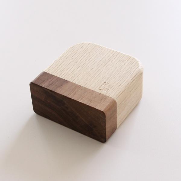 台屋のかつおぶし削り器の刃調整にちょうど良いサイズの木つちです