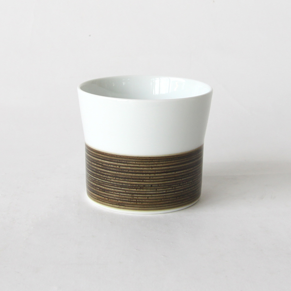 麻の糸 フリーカップ(セピア)