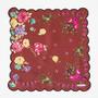 MANTERO シルクツイルスカーフ (47×47)
