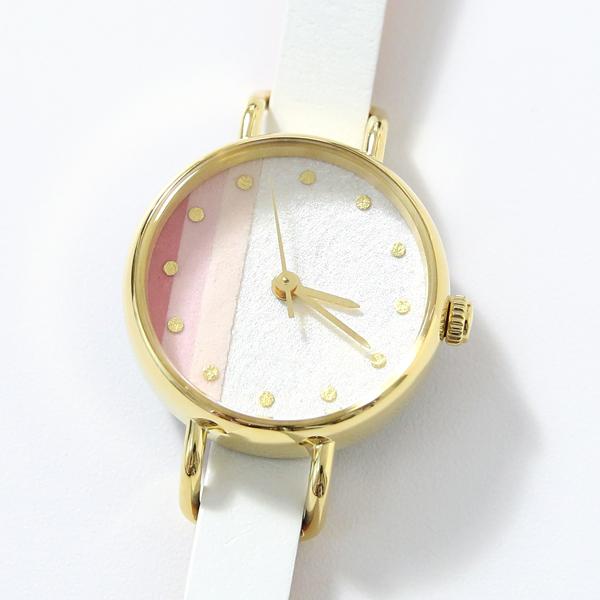 淡いピンクの彩りと金箔を一つずつあしらったインデックスが美しい