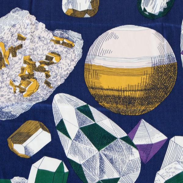 鉱石や宝石が描かれています