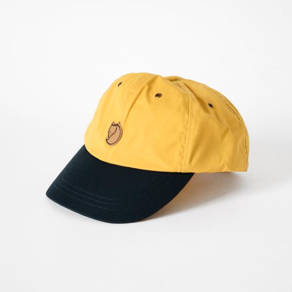 HELAGS CAP(OCHRE DARK NAVY)